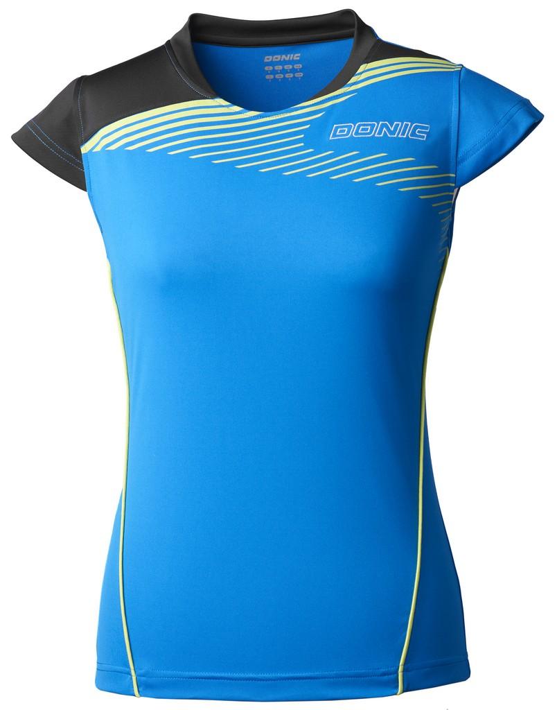 Tričko Donic Trace modré - modrá -L