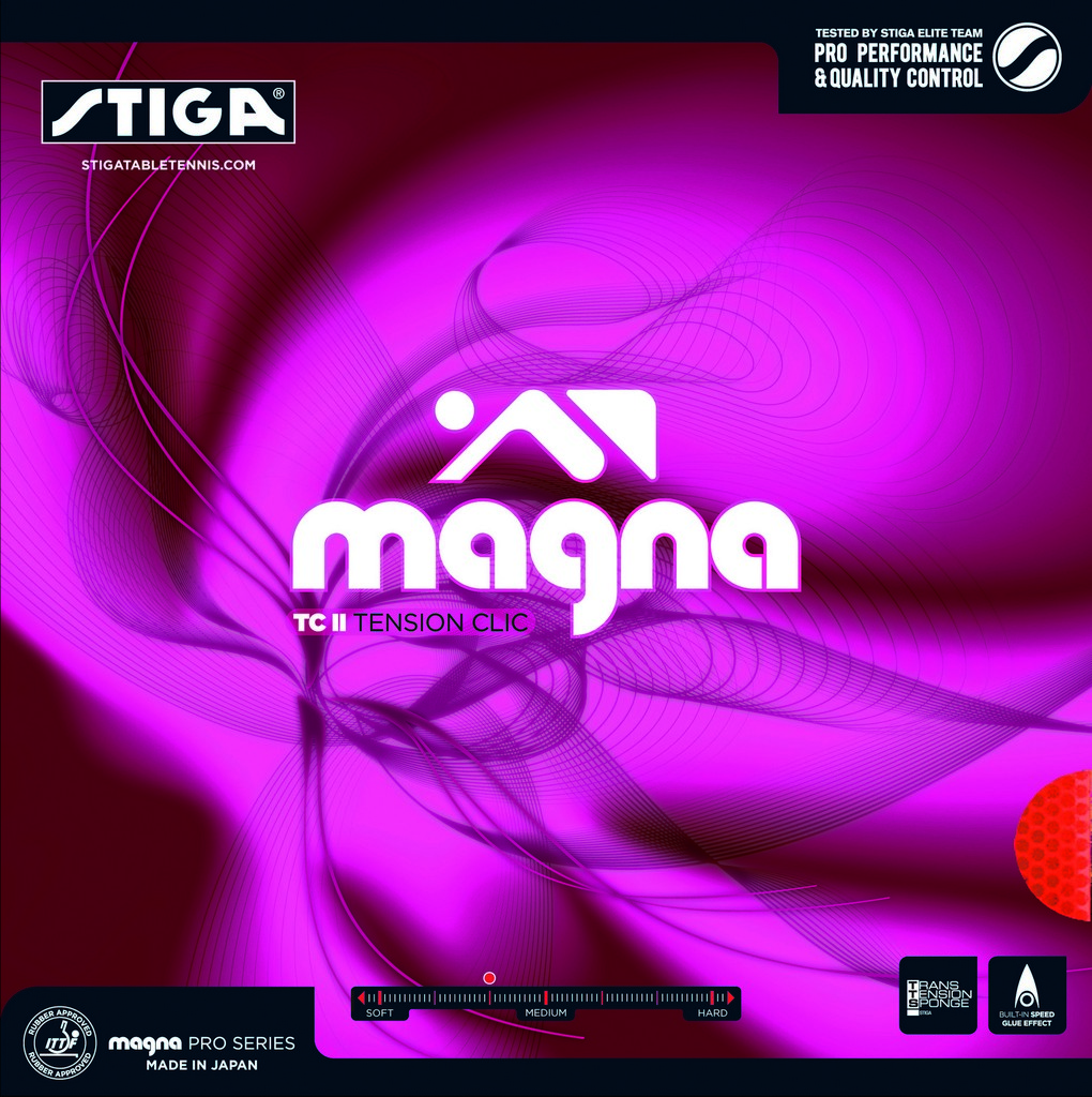 Potah STIGA Magna TC II - červená -