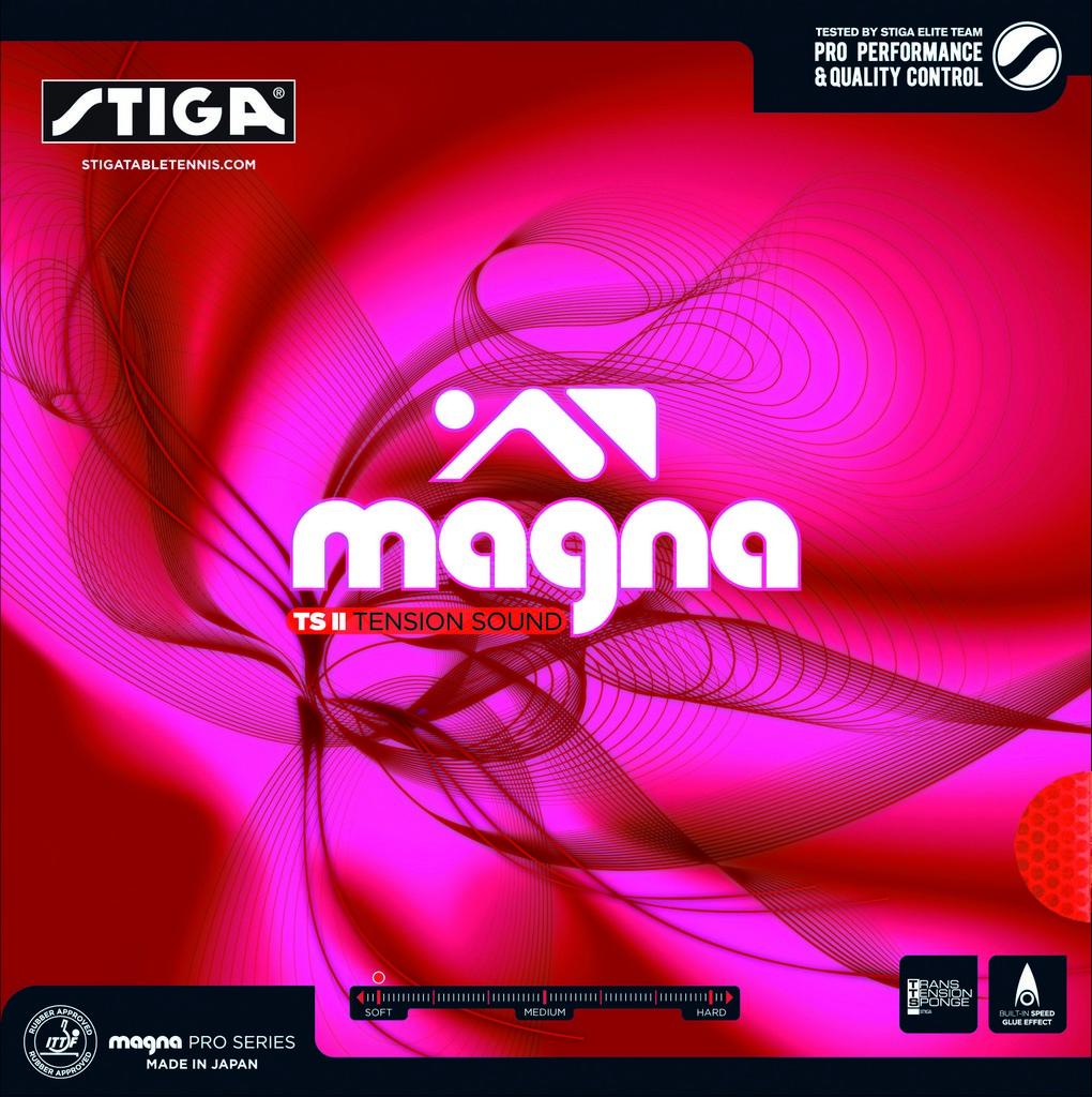Potah STIGA Magna TS II - červená -