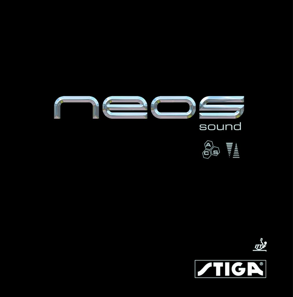 Potah STIGA Neos Sound - černá -