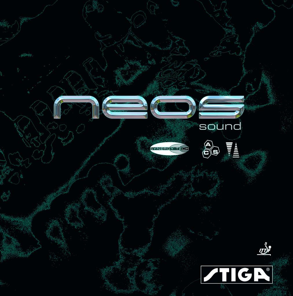 Potah STIGA Neos Sound SynergyTech - červená -