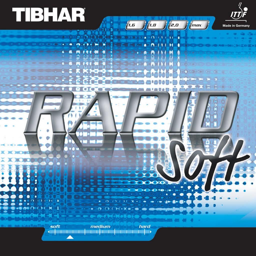 Potah Tibhar Rapid Soft - červená -