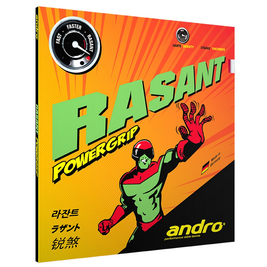 Potah Andro Rasant Powergrip - červená -