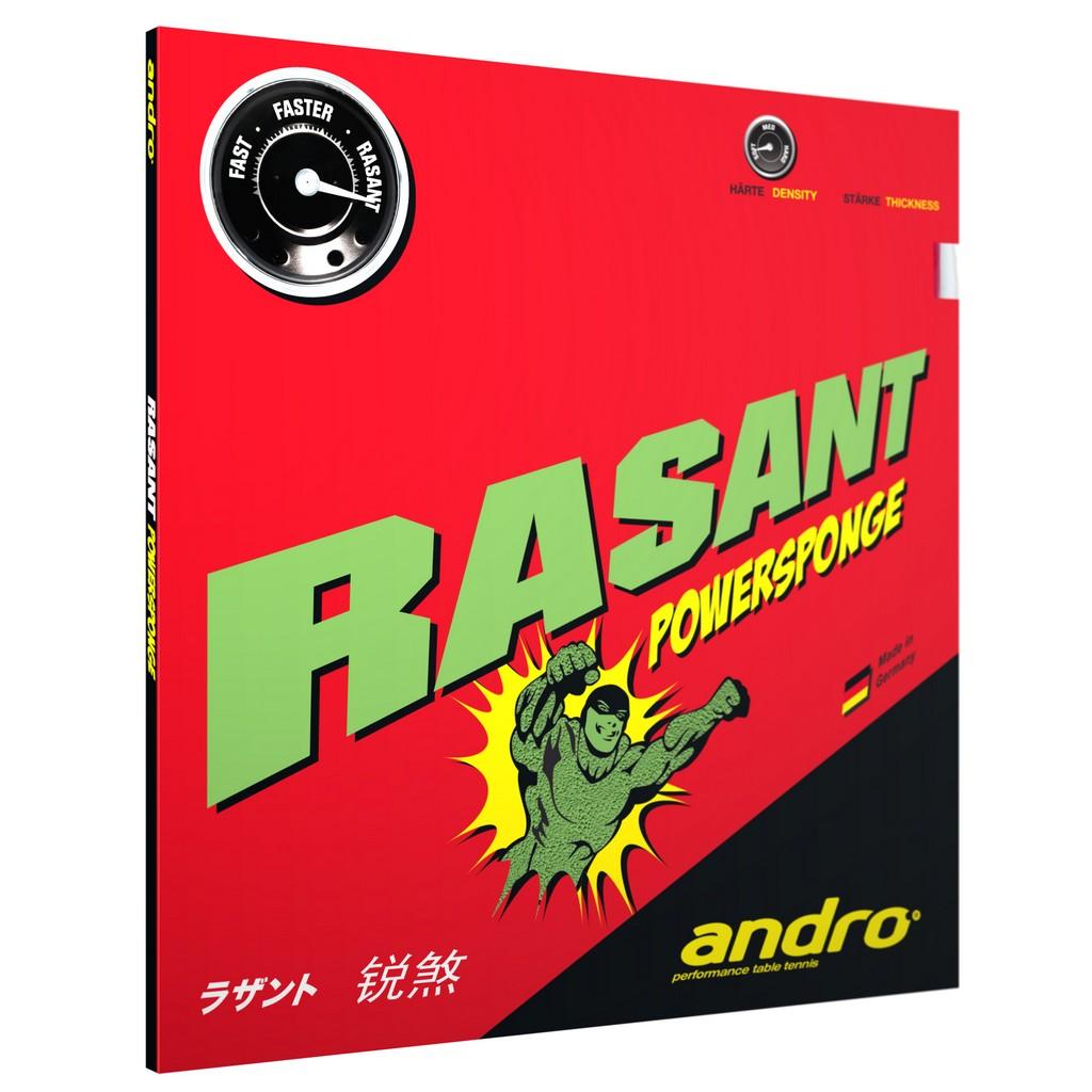 Potah Andro Rasant Powersponge - červená -