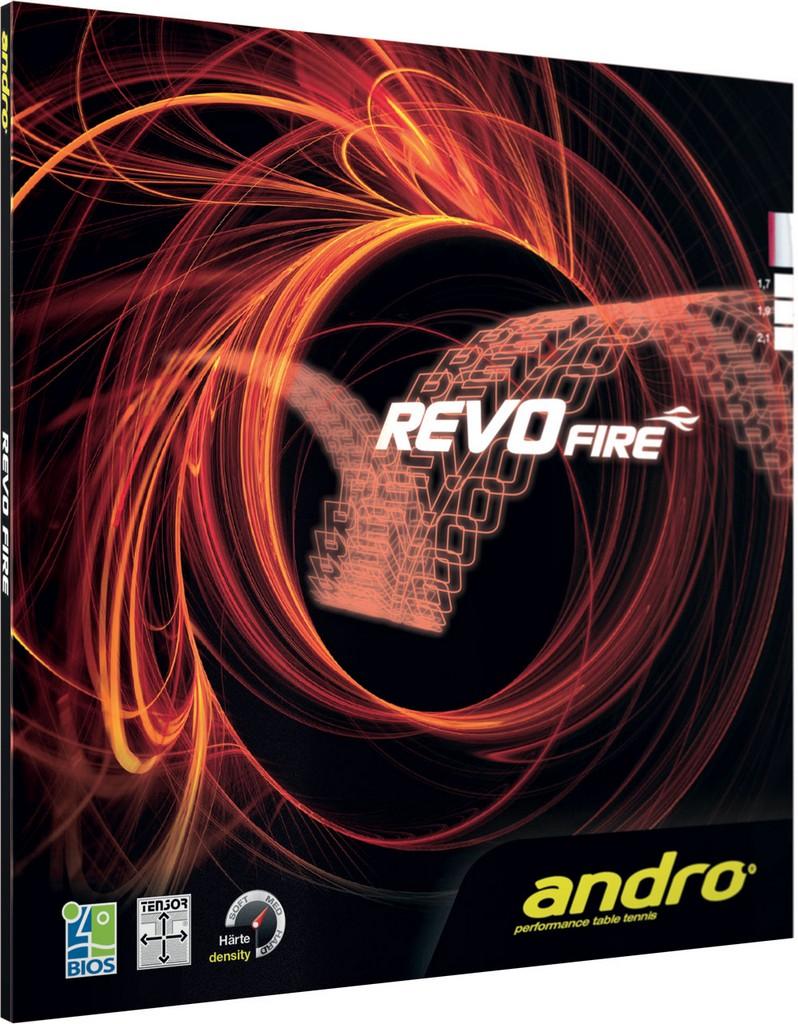 Potah Andro Revo Fire - červená -