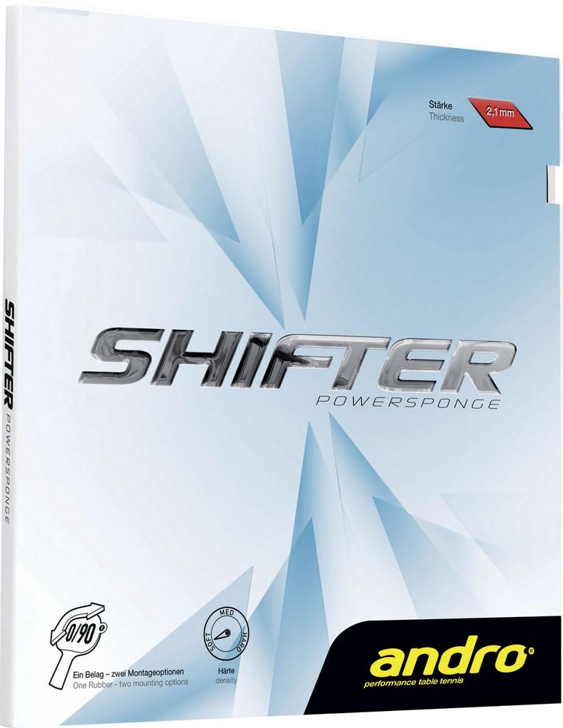 Potah Andro Shifter Powersponge - červená -