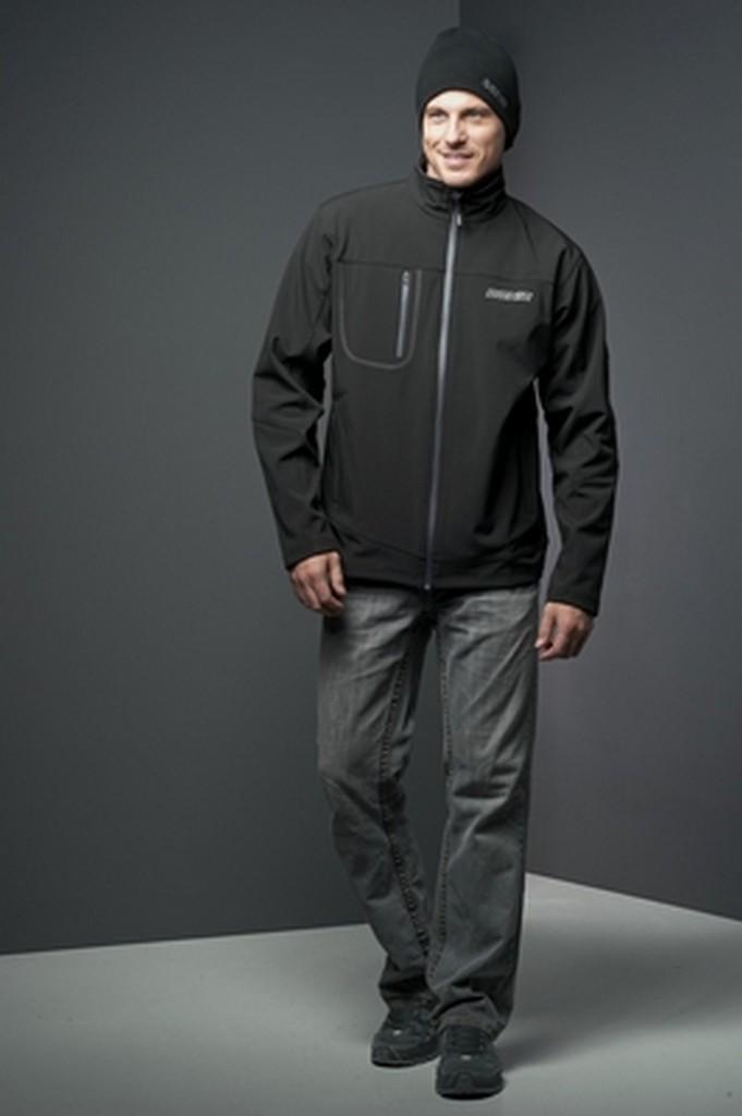 Bunda DONIC Softshell jacket černá - černá -M