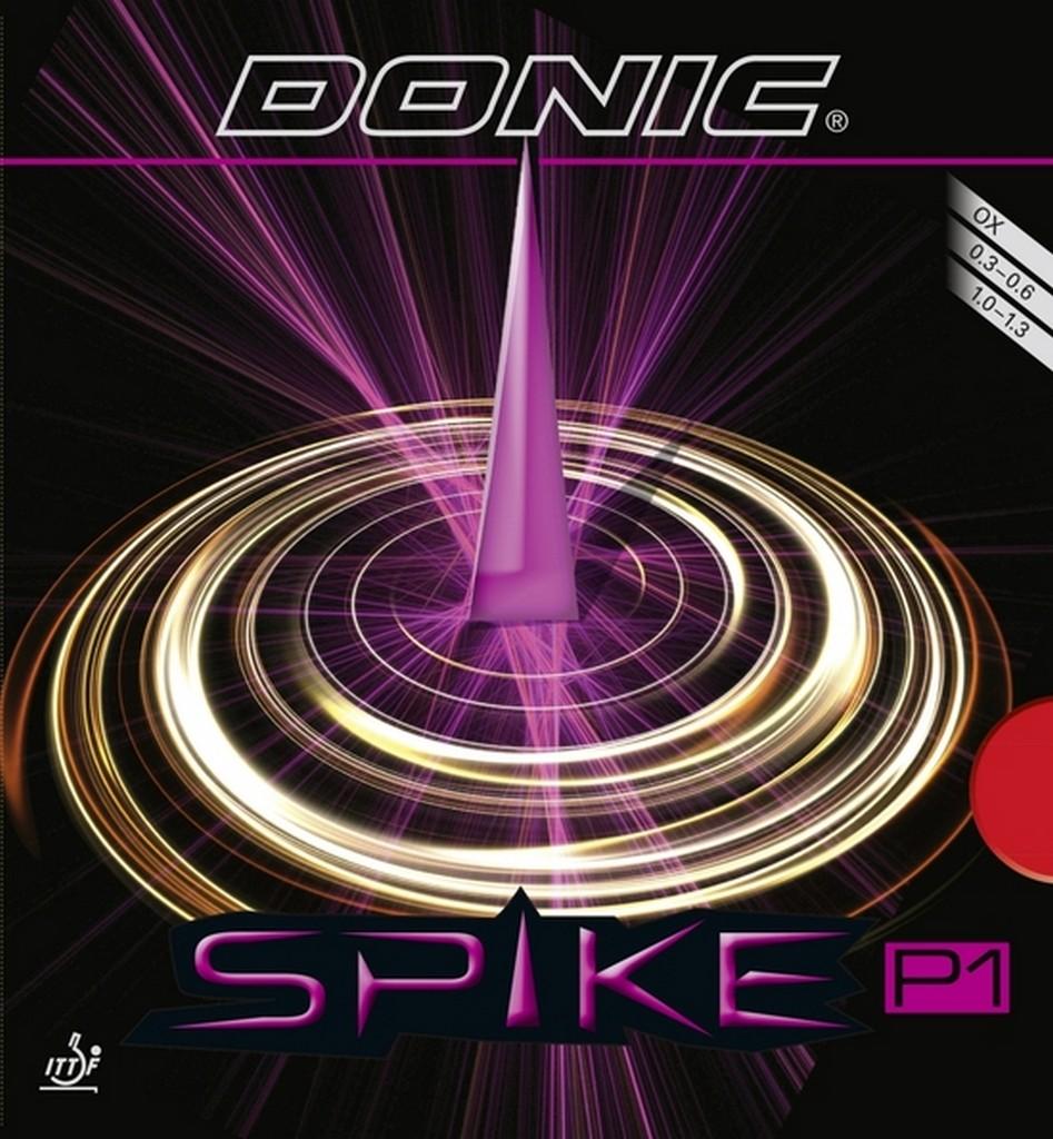 Potah DONIC Spike P1 - červená -