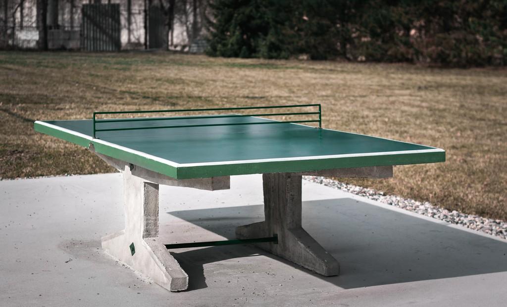 Stůl STEN marketing Beton - zelená -