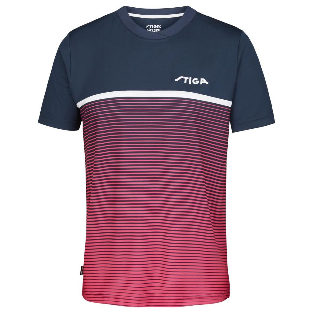 Tričko STIGA Lines tmavě modrá/fialové - tmavě modrá/fialová -M