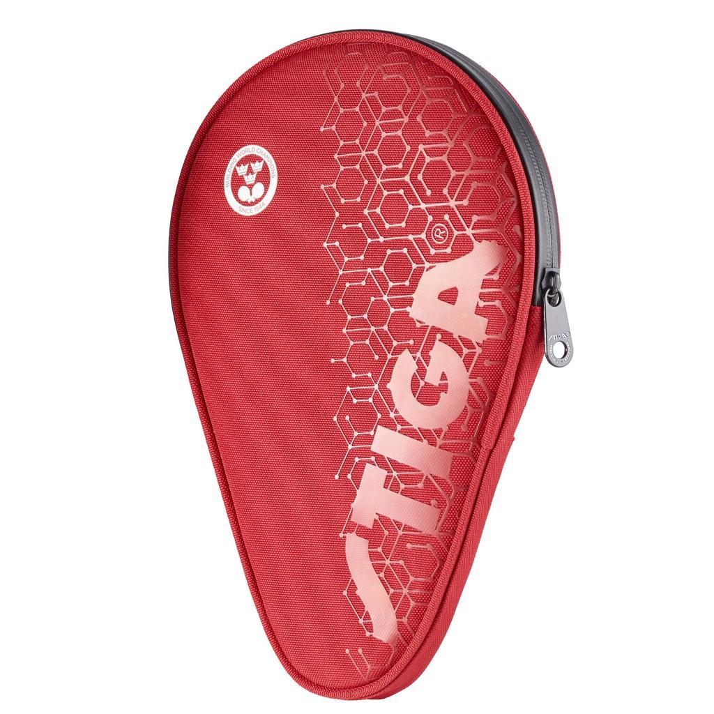 Pouzdro STIGA Hexagon obrys - červená -