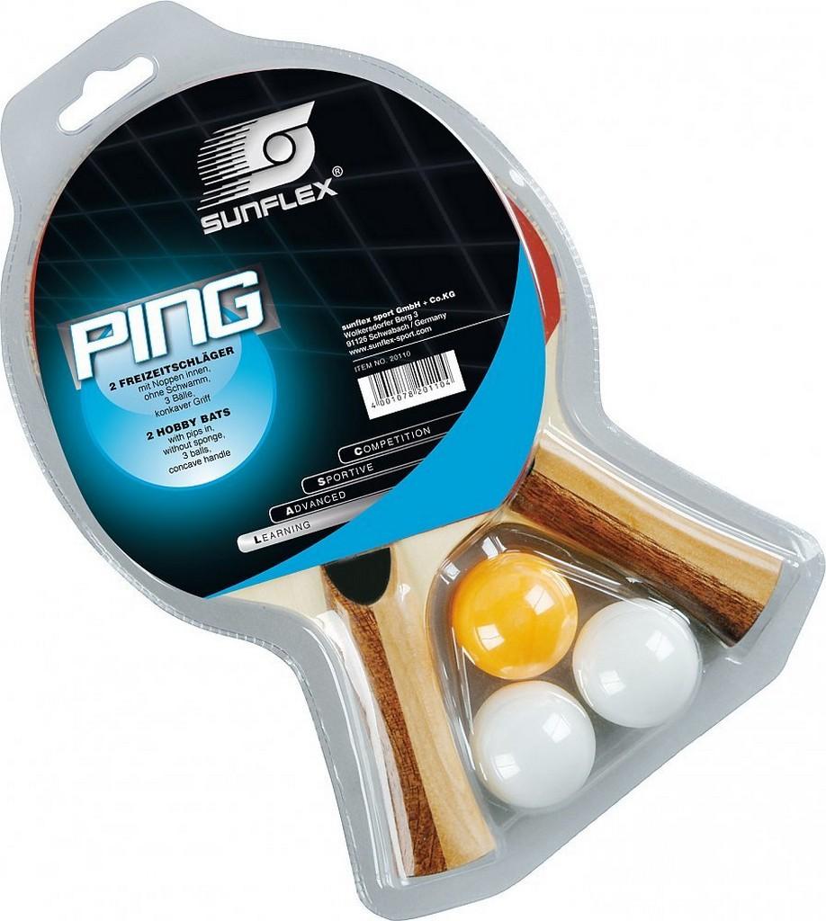 Pálka BUTTERFLY Sunflex Ping Set - -