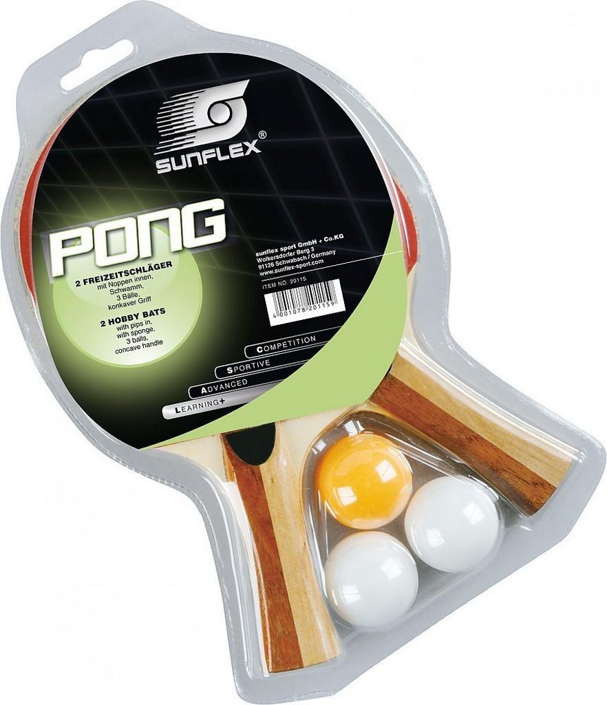 Pálka BUTTERFLY Sunflex Pong Set - -