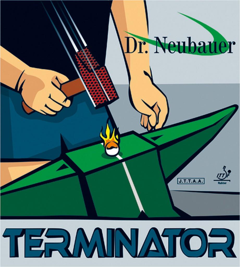 Potah Dr. Neubauer Terminator - červená -
