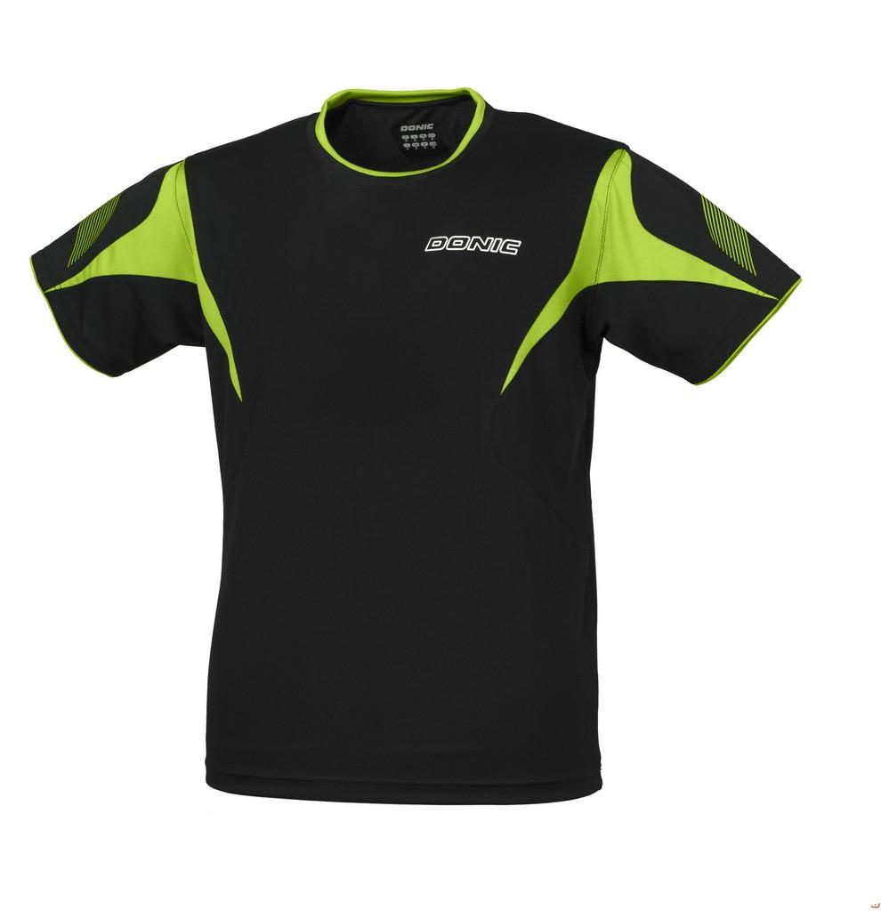 Tričko DONIC Twist černé - černá -XL