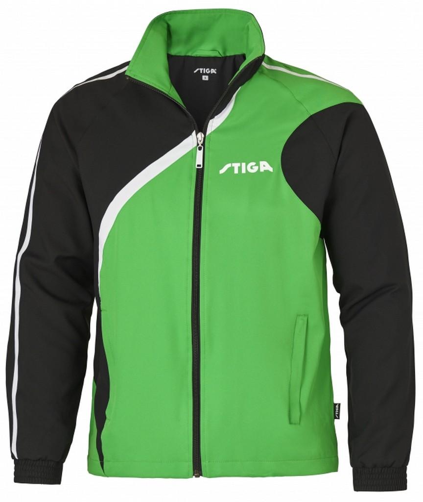Bunda k soupravě STIGA Universe - zelená s černýá - zelená s černým -XS
