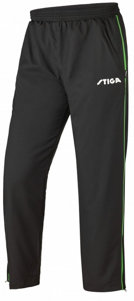 Kalhoty k soupravě STIGA Universe- - černá se zeleným -L