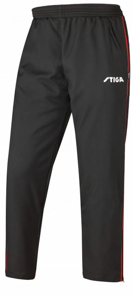 Kalhoty k soupravě STIGA Universe- černá s červenýá - černá s červeným -S