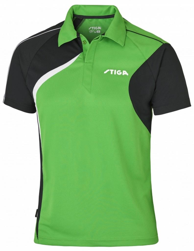Polokošile STIGA Voyage zelená s černýá - zelená s černým -XS