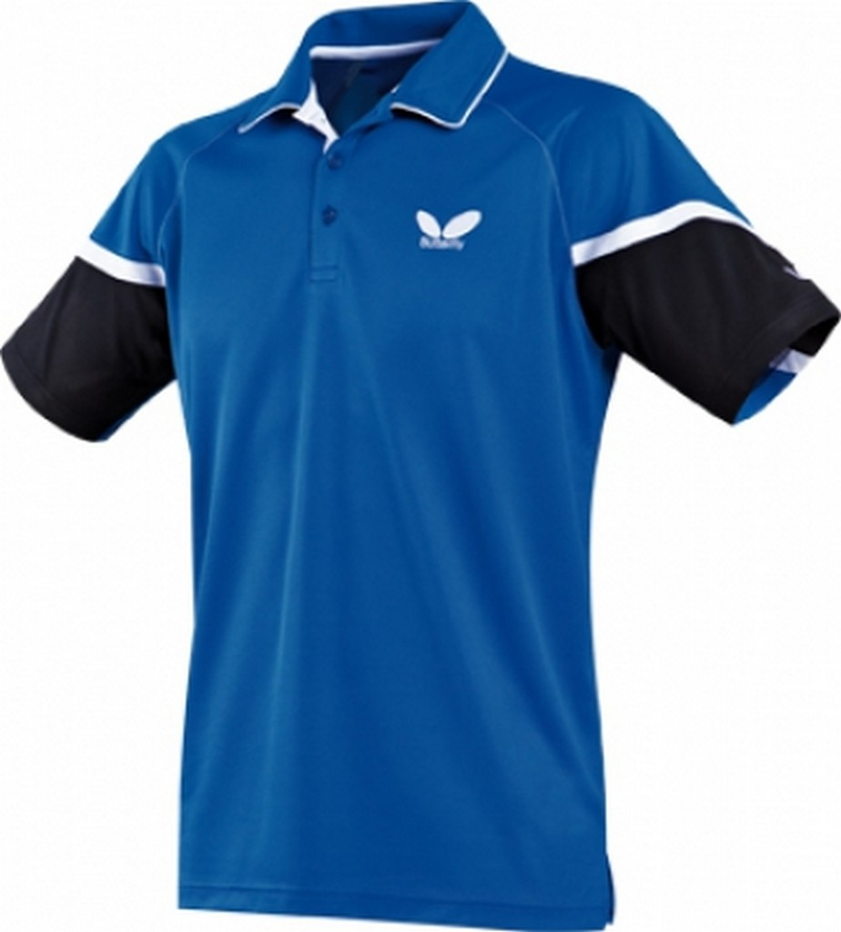 Polokošile BUTTERFLY Xero modrá - modrá -XXXXL