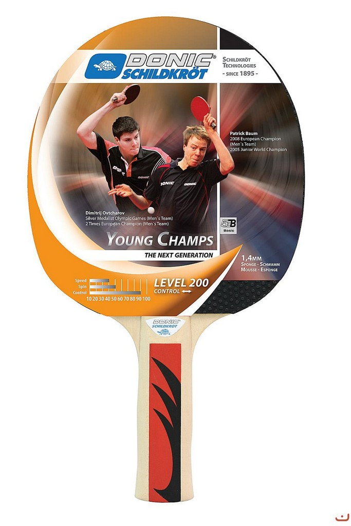 Pálka DONIC Young Champs 200 - -